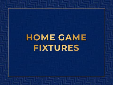 Home Game Fixtures